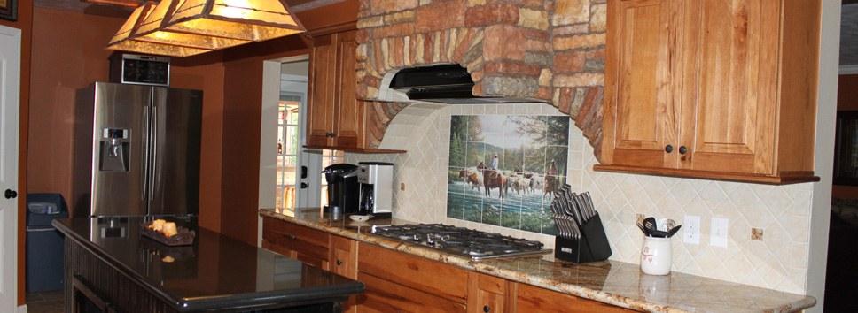 Granite & Marble * Custom Tile Backsplashes * Custom Cabinets * Stone/Faux Stone Installations