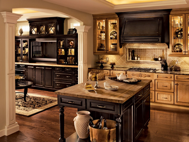 kraftmaid cabinets offer design style affordability. Black Bedroom Furniture Sets. Home Design Ideas